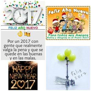 """12 meses. 12 deseos. Y muchos mensajes deseando un """"Feliz 2017"""""""